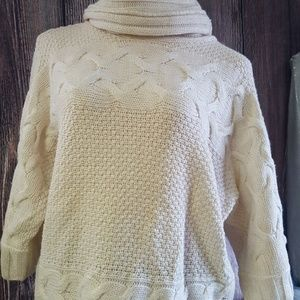 Antonio Melani cowl neck sweater